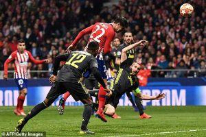 Ronaldo lu mờ và những điểm nhấn trận Juventus -Atletico Madrid