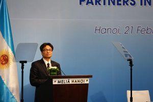 Phó Thủ tướng Vũ Đức Đam giới thiệu lợi thế của Việt Nam với các DN Argentina