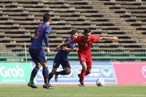 U22 Việt Nam 0-0 U22 Thái Lan: Đánh rơi chiến thắng