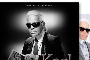 'Karl Lagerfeld - Nắng đã tắt nhưng Mặt Trời vẫn huy hoàng vĩnh cửu!