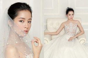Mỹ Linh đẹp thuần khiết, Ngọc Trinh gợi cảm hết nấc nhưng Mỹ Tâm mới là xuất sắc khi mặc váy cưới