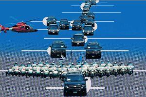 Chỉ tên từng xe hộ tống Tổng thống Donald Trump sắp đến Việt Nam
