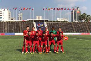 Hòa U22 Thái Lan, U22 Việt Nam đứng nhất bảng A giải U22 Đông Nam Á