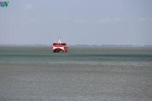 Tàu chở 600 hành khách đi Côn Đảo gặp sự cố trên biển