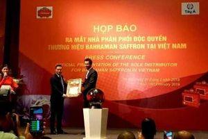Bahraman Saffron chọn Công ty Tây Á phân phối độc quyền nhụy hoa nghệ tây tại Việt Nam