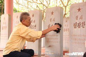 Người thương binh hơn 20 năm chăm sóc nghĩa trang liệt sĩ Triều Tiên ở Bắc Giang: 'Tôi sẽ làm đến khi còn có thể'