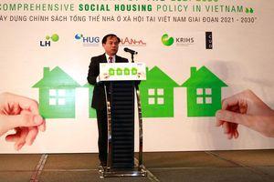 Phát triển nhà ở xã hội mới đáp ứng 33% nhu cầu