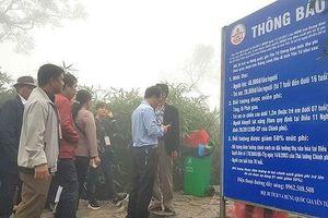 Du khách ngỡ ngàng việc lập trạm 'BOT' chặn lối lên chùa Đồng