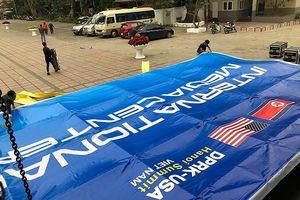 Trung tâm báo chí sẵn sàng cho hội nghị thượng đỉnh Mỹ - Triều