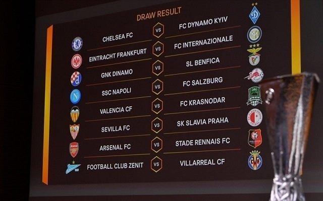 Chelsea gặp khó, Arsenal đụng đối thủ dễ chịu ở vòng 1/8 Europa League