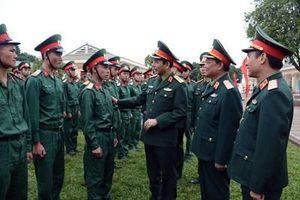Thượng tướng Phan Văn Giang thăm, kiểm tra Lữ đoàn 490