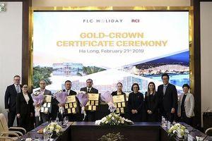 Bốn quần thể nghỉ dưỡng của tập đoàn FLC được nhận chứng chỉ Gold Crown