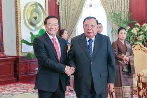 Mốc son mới cho quan hệ Việt - Lào