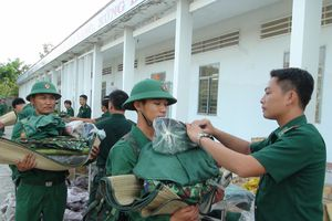 Bộ Chỉ huy BĐBP các tỉnh tiếp nhận tân binh năm 2019
