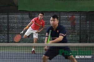Sôi động giải Tennis chào xuân Cúp Song Hà