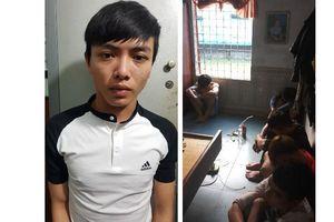 6 trai làng mở tiệc ma túy đá tại nhà