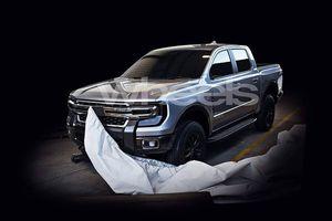 Thế hệ mới của Ford Ranger sẽ có thiết kế tương tự bán tải hạng nặng?