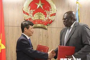 Việt Nam và Nam Sudan chính thức thiết lập quan hệ ngoại giao