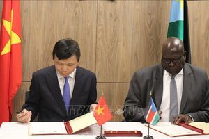 Việt Nam và Nam Sudan đánh giá cao ý nghĩa của việc thiết lập quan hệ ngoại giao
