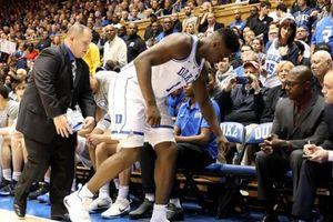 Duke công bố tình trạng chấn thương của Zion Williamson