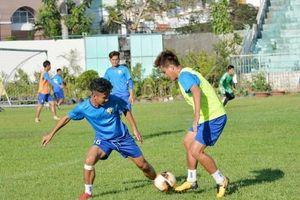 Bóng đá An Giang chuẩn bị mùa giải hạng nhất