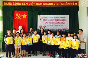 Trao trên 10 ngàn phần quà cho trẻ em nghèo dịp Tết