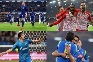 Danh sách 16 đội bóng giành vé vào vòng 1/8 Europa League 2018/2019