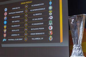 Vòng 1/8 Europa League: Arsenal, Chelsea gặp đối thủ 'dễ chịu'