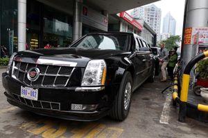 'Quái thú' của TT Trump đổ bao nhiêu xăng tại Hà Nội?