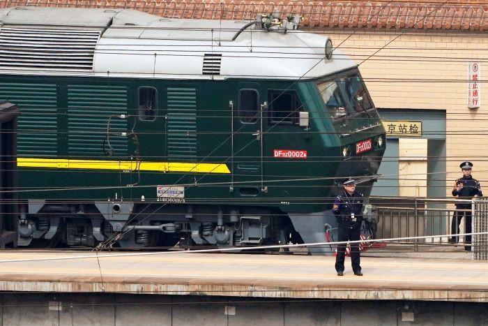 AFP: Tàu bọc thép của ông Kim Jong Un đã tới Trung Quốc