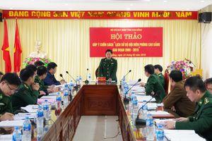 Hội thảo góp ý dự thảo sách 'Lịch sử BĐBP Cao Bằng' giai đoạn 2009-2019