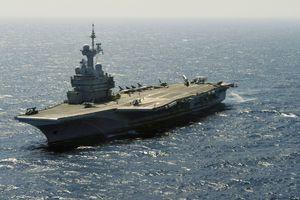 Pháp triển khai tàu sân bay hạt nhân đến Ấn Độ Dương-Thái Bình Dương
