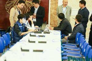 Toàn cảnh Trung tâm báo chí quốc tế phục vụ Hội nghị Thượng đỉnh Triều Tiên - Hoa Kỳ