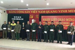 Lạng Sơn: Tri ân những người giữ đất biên cương