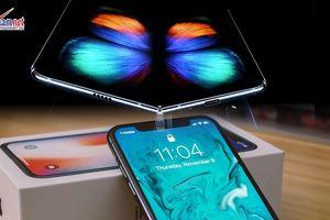 Ra mắt loạt điện thoại Galaxy mới, iPhone có thể bị cấm bán tại Mỹ