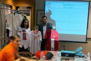 U.22 Việt Nam chọn trang phục trắng đối đầu Indonesia ở bán kết AFF Cup