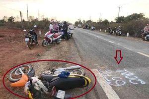 Ô tô tông xe máy, 3 người tử vong tại chỗ