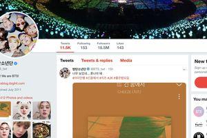 BTS soán ngôi đầu bảng tài khoản Twitter có lượt tương tác lớn nhất thế giới