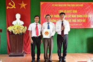 Thừa Thiên Huế công bố quyết định của Bộ LĐ – TB&XH về sáp nhập cơ sở GDNN