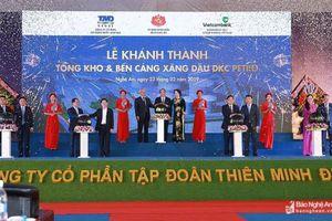 Thủ tướng nhấn nút khánh thành Tổng kho xăng dầu gần 1.500 tỷ tại Nghệ An