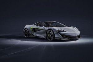 McLaren 600LT Spider màu Dove Grey đặc biệt từ MSO sẽ tham dự Geneva