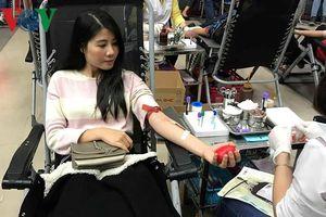 Lễ hội Xuân hồng: Hãy cùng 'Hiến giọt máu đào - Trao đời sự sống'