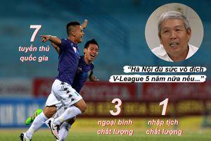 Hà Nội còn vô địch V-League 5 năm nữa…