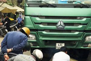 Chiến sĩ công an bị xe tải cán chết ở Đà Nẵng