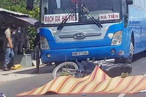 Hai cha con bị xe bồn cán chết trên quốc lộ