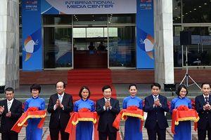 Khai trương Trung tâm báo chí quốc tế Hội nghị cấp cao Mỹ - Triều Tiên lần hai