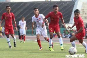 Thua cay đắng U22 Indonesia, U22 Việt Nam vỡ mộng vô địch U22 Đông Nam Á