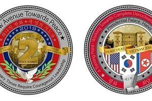 Nhà Trắng phát hành đồng xu 'Hòa bình' nhân dịp Hội nghị Thượng đỉnh Mỹ-Triều Tiên lần 2