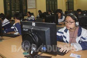 Hải Dương tổ chức thi Olympic tiếng Anh trên internet