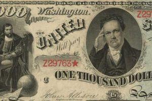 Bộ ba tiền giấy cổ hiếm từ thế kỷ 19 dự kiến bán được giá gần 190 tỷ đồng